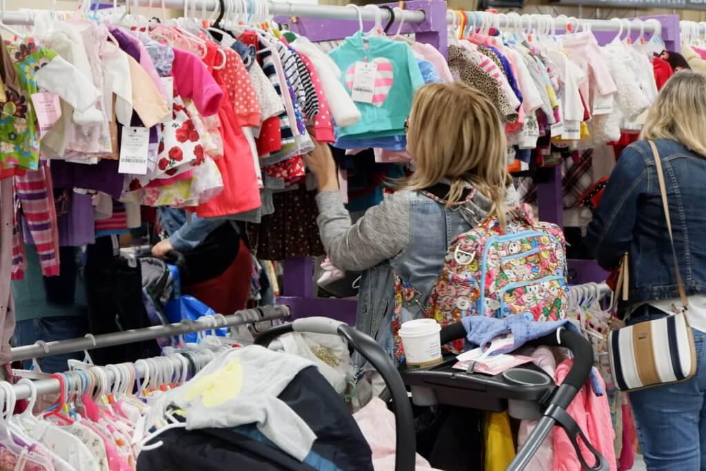 saint john used kids baby clothes toys shop sale thrift exhibition park grapevine events pop up