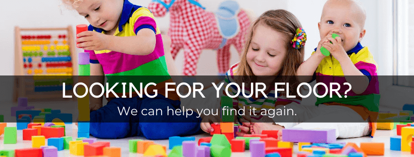 kids playing with toys with text looking for your floor? grapevine events can help